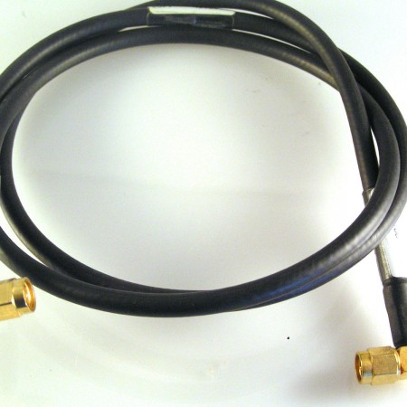 gold-sma-to-sma-90-plug-lead-50